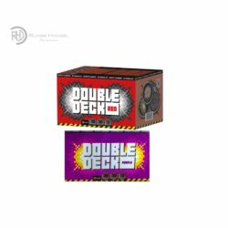 Double deck Red und Purple