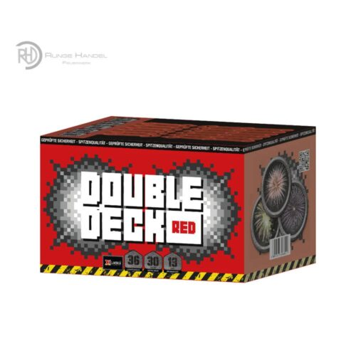 Xplode Double Deck Red 6er