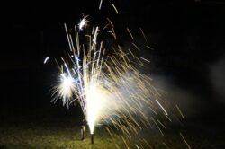 Leuchtfeuerwerk