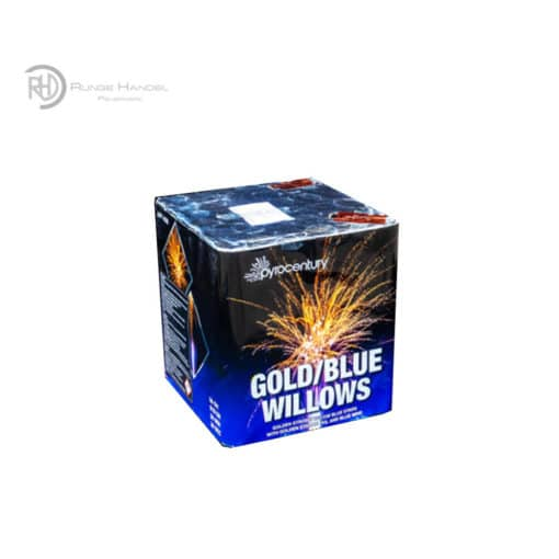 Pyrocentury Gold Blue Willows