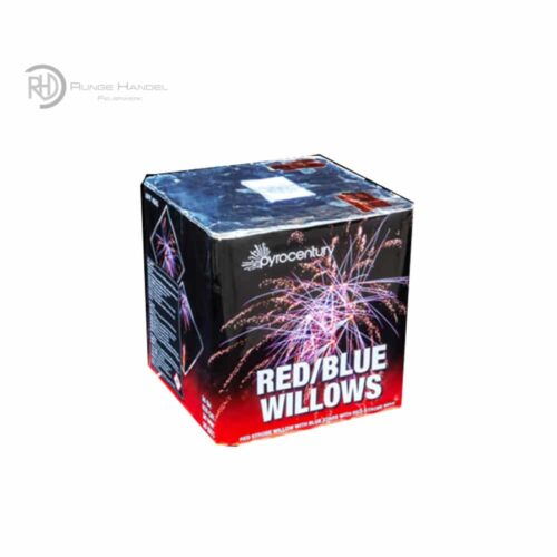 Pyrocentury Red Blue Willows