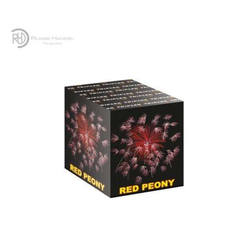 Triplex Red Peony